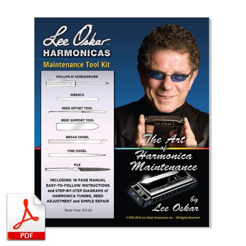 Lee Oskar Harmonicas Maintenance Guide