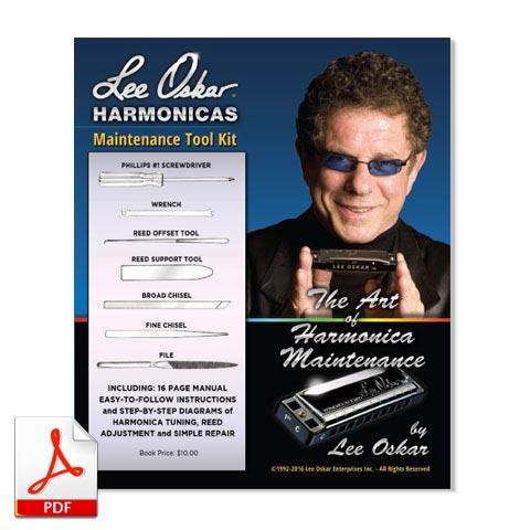 Lee Oskar Harmonicas Maintenance Guide