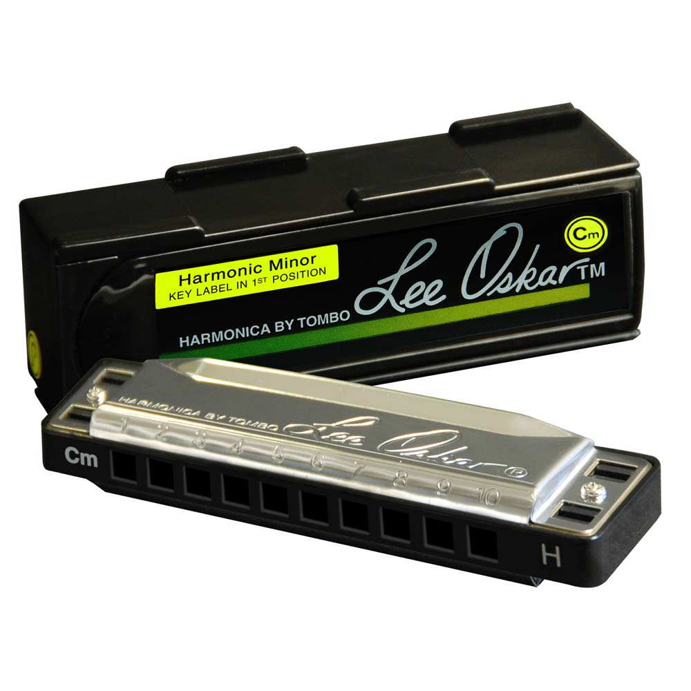 Lee Oskar Harmonic Minor Harmonica with box