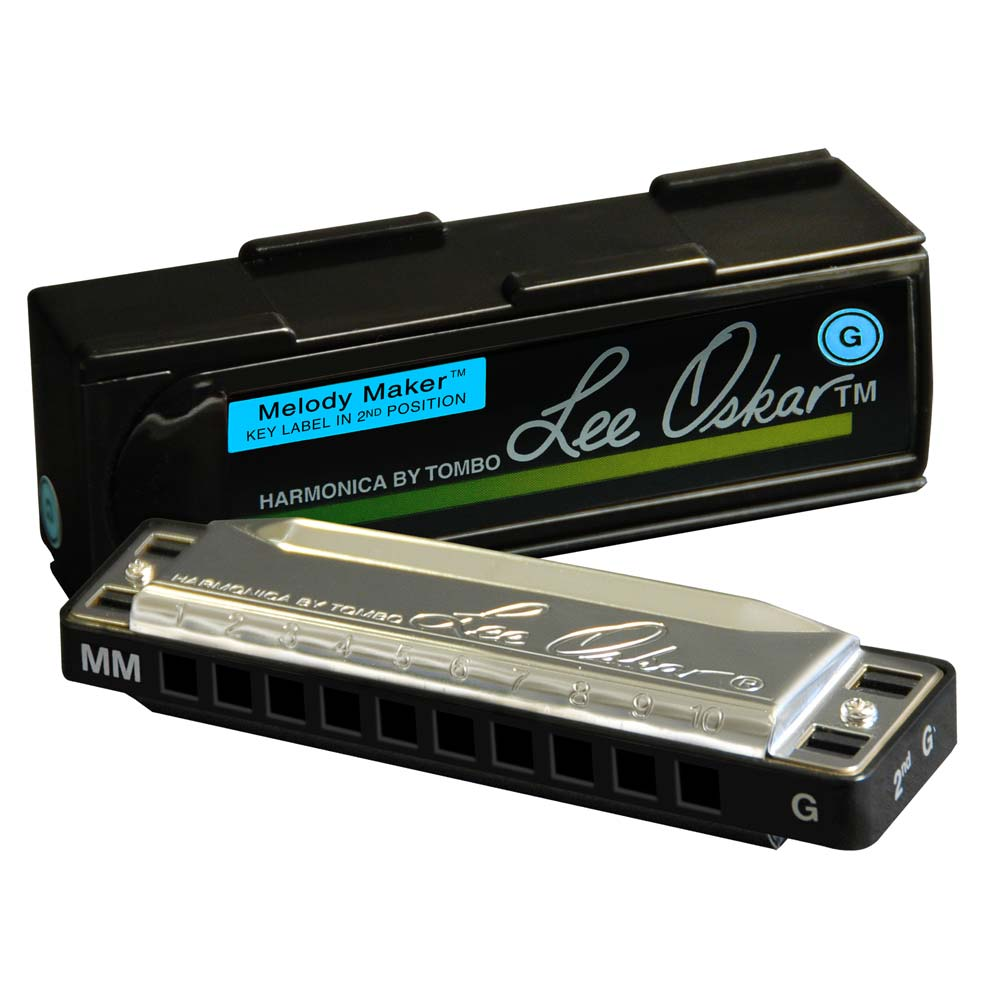 Lee Oskar Melody Maker Harmonica with box
