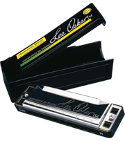 Harmonic Minor Harmonica Note Layout