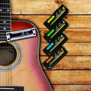 Playing Different Genres of Music on a Harmonica with your Guitar