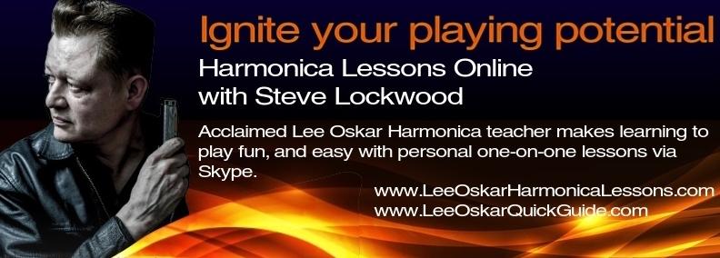 Steve Lockwood Online Harmonica Lessons