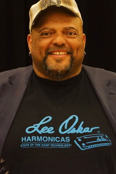 Lee Oskar Harmonicas Featured Artist - Kevin Burt