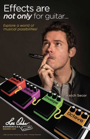 Lee-Oskar-Harmonicas-with-effects-Ketch-Secor-poster