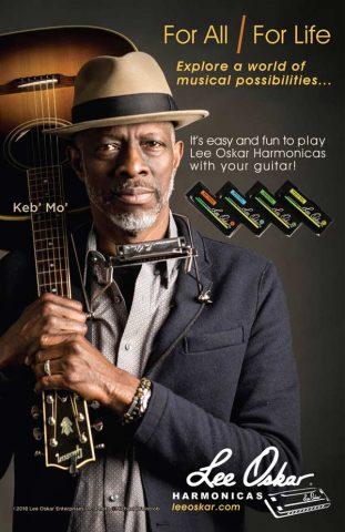 Lee-Oskar-Harmonicas-with-guitar-poster