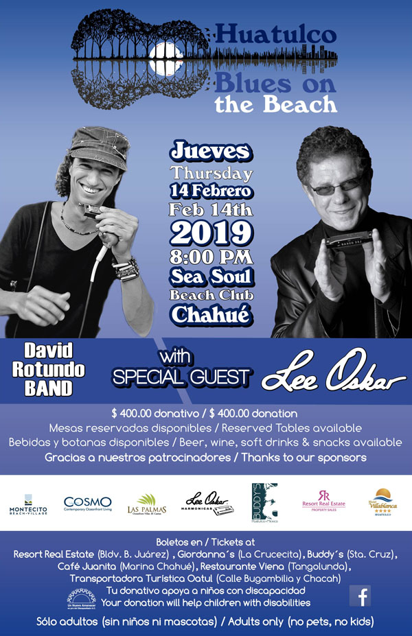 febrero Blues on the beach 2019