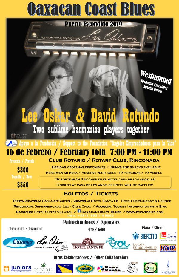 Lee Oskar & David Rotundo Live - Oaxaca Mexico February 16, 2019