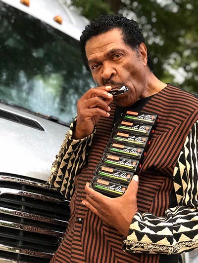 Bobby Rush - Lee Oskar Harmonicas Featured Artist