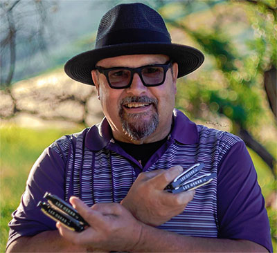 Lee Oskar Harmonicas - Featured Artist Darryl Carriere